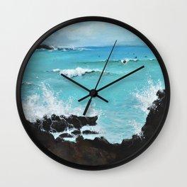 Hurricane Party Wall Clock