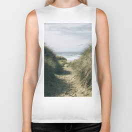 To The Beach Biker Tank
