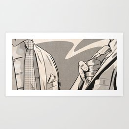 NOIR no.04 (UNDERSTOOD?) Art Print