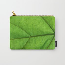 Jungle Fronds Green Carry-All Pouch