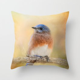 Autumn's Treasure Throw Pillow