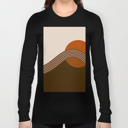 Cocoa Sundown Stripes Long Sleeve T-shirt