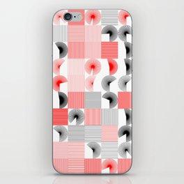 Random Line Pattern 1 iPhone Skin