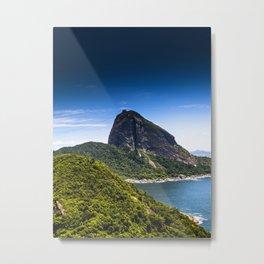 Rio de Janeiro Sugar Loaf Metal Print