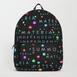 FFVII Materia Pattern Backpack