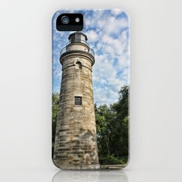 Standing tall lighthouse iPhone Case