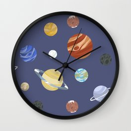 Panets! Wall Clock