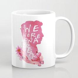 ross - we were on a break Coffee Mug