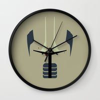 sith Wall Clocks featuring Fear Incarnate (Sith Stalker) by Timmy D. Matias