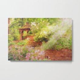 Paradise Garden Metal Print