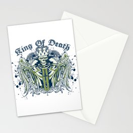 King of death Stationery Cards