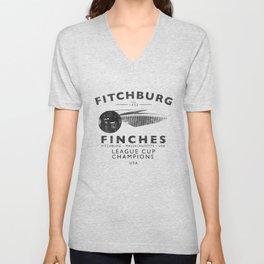 Fitchburg Finches Unisex V-Neck