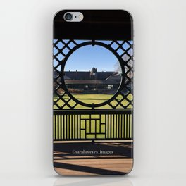 Autumn at the International Tennis Hall of Fame iPhone Skin