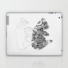 Y en la oscuridad también Laptop & iPad Skin