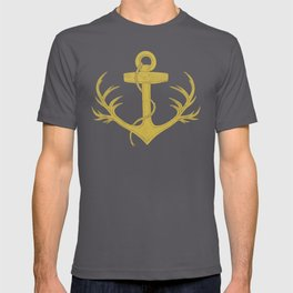 Antlered Anchor (option) T-shirt
