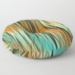 Ocean Sunset Floor Pillow