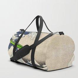 Dog in the sea Duffle Bag
