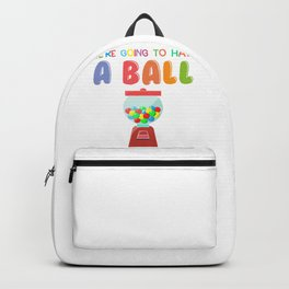 School Have a Ball in 5th Grade Teacher and Student Backpack
