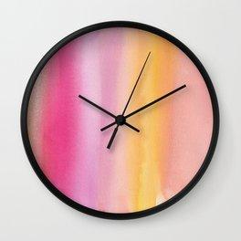 12     | 190728 | Romance Watercolour Painting Wall Clock