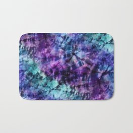 Midnight Tie Dye Bath Mat