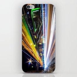 Light Trails 1 iPhone Skin