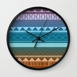 Summer Tribe Wall Clock