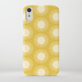 Golden Sun Pattern III iPhone Case