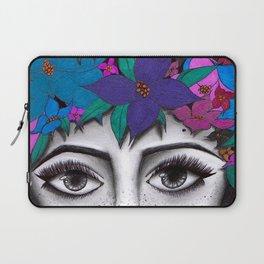 Flower Crown Laptop Sleeve