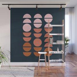 Modern Desert Color Shapes Wall Mural