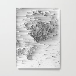 Japanese Glitch Art No.1 Metal Print