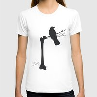 bones T-shirts featuring Bones by Gustik Albo