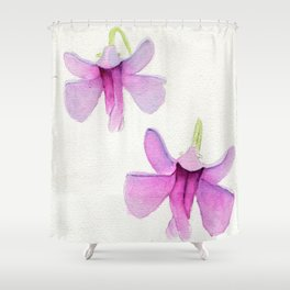 Impatiens To Fly Shower Curtain