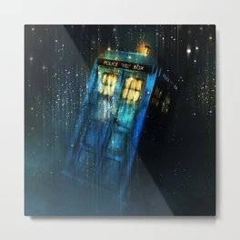Time And Relative Dimension In Space Metal Print