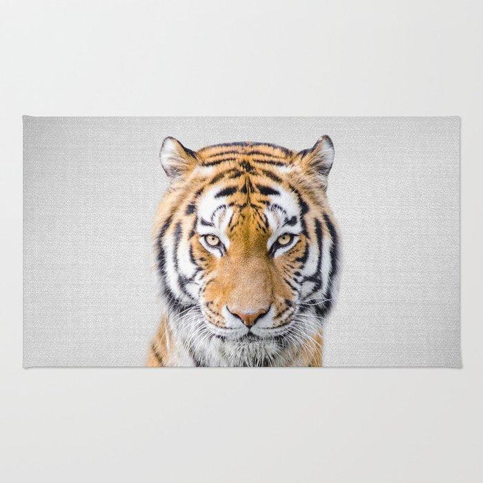 Tiger - Colorful Rug