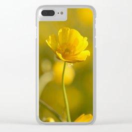 Buttercup Clear iPhone Case