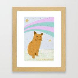 Pet My  Framed Art Print