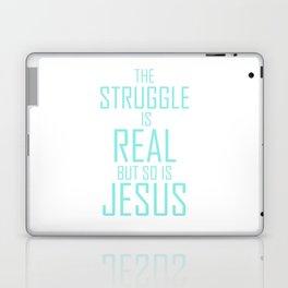 Jesus is Real Christian Laptop & iPad Skin