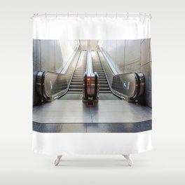 escalator Shower Curtain
