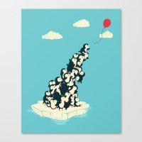 balloon Canvas Prints featuring Balloon! by Jay Fleck