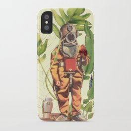 Part 42 Deep sea Sacred Heart Diver iPhone Case