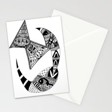 Rhino Horn Stationery Cards