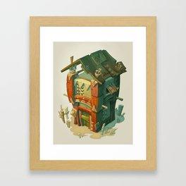 Afriki House Framed Art Print
