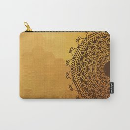 Ethnic Mandala Carry-All Pouch