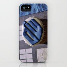 Doctor Who Cupcake by Giada Ciotola iPhone Case