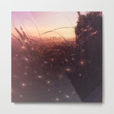 Tiny Lights Metal Print