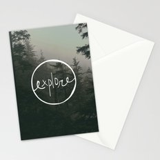 Explore Oregon Forest Stationery Cards