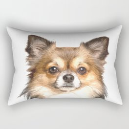 Chihuahua Portrait Rectangular Pillow