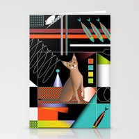 predator Stationery Cards featuring Predator by Vannina