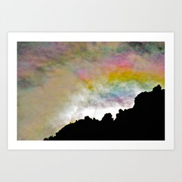 Smiling Sunrise Art Print