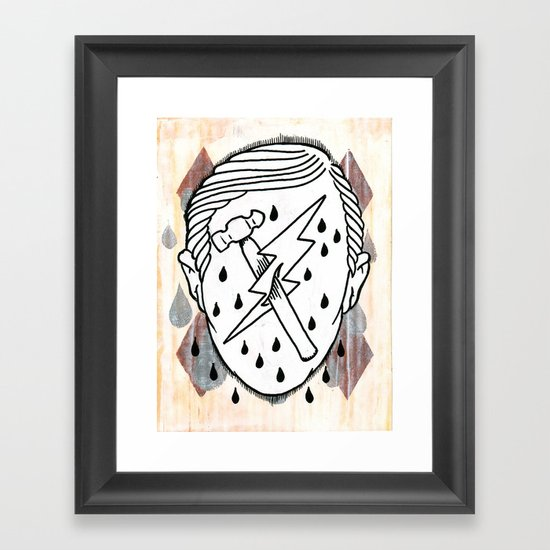 This is Fred, he's an Epic Lad. Framed Art Print